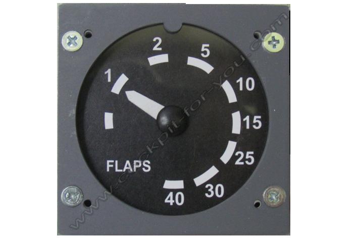 Gauge 737 Flaps indicator S001