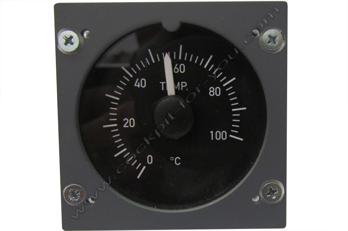 Boeing 737 Gauge OVH Temperature S1