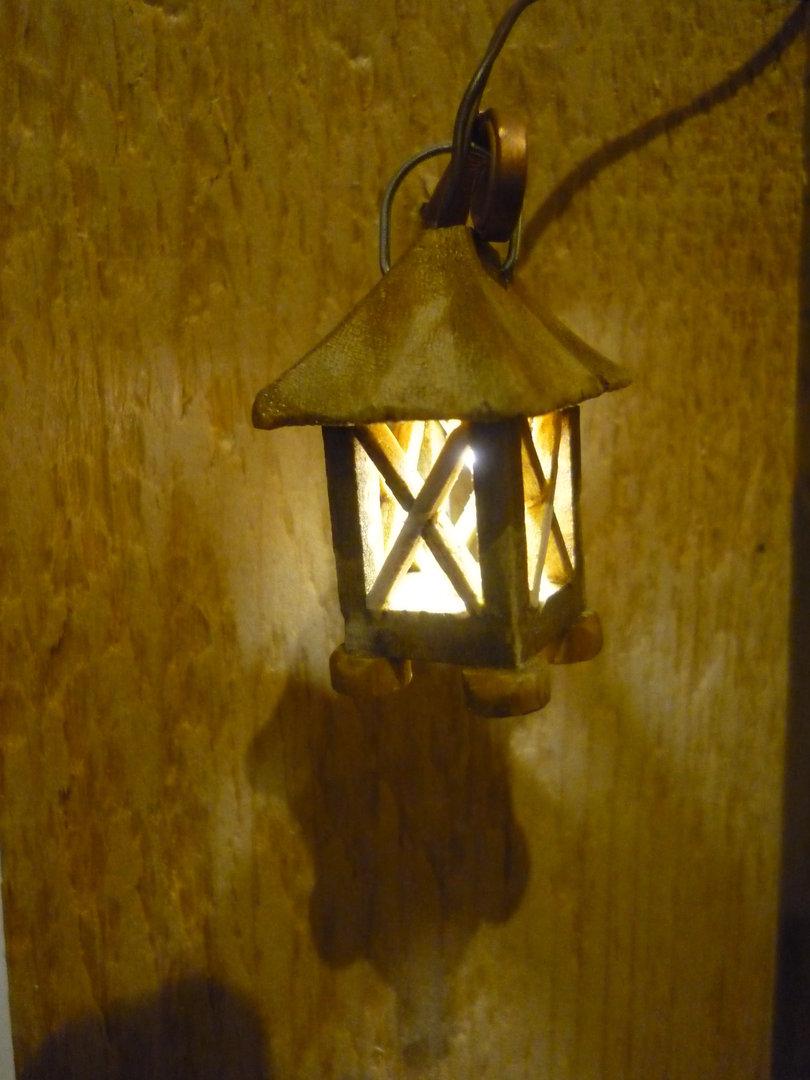 Laterne Holz Led Holzlaterne Krippenbeleuchtung