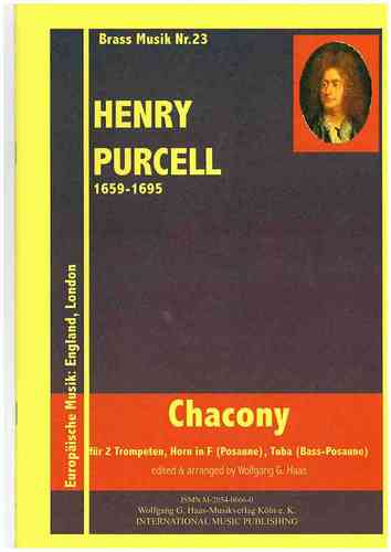 Purcell, Henry 1659-1695; Chacony/ Brass Quartet