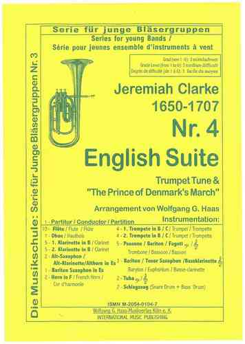YOUNG BAND Nr. 4, Clarke, Jeremiah 1673-1707 English Suite;