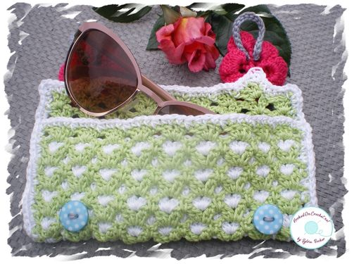 Crochet Sunglasses Case Summer Breeze