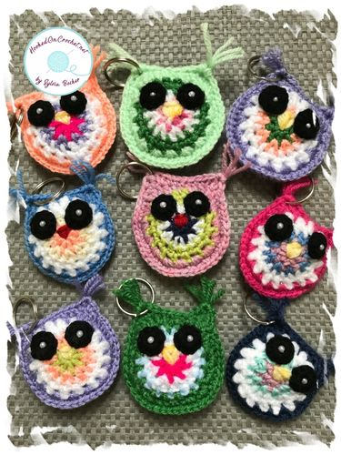 Little Owl Keyring with gift box