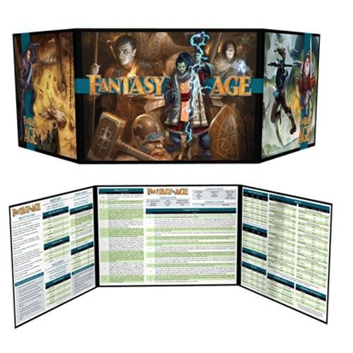 Fantasy AGE Games Masters Kit for the Fantasy AGE RPG