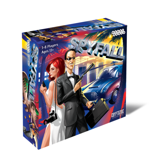 Spyfall - the award winning party game
