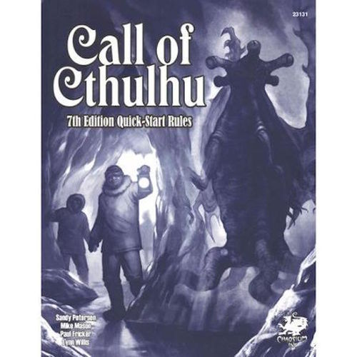 Call of Cthulhu RPG 7th edition Quickstart Rules