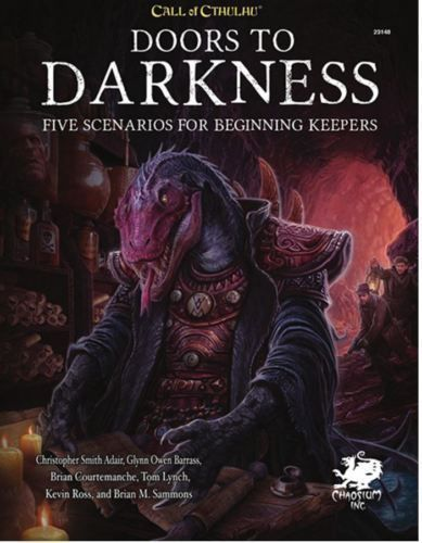 Call of Cthulhu RPG 7th edition Doors to Darkness