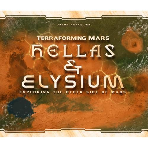 Hellas and Elysium for Terraforming Mars