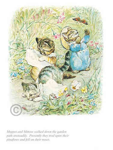 Moppet and Mittens by Beatrix Potter