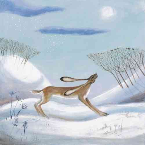 Snow Is In The Air by Carolyn Pavey