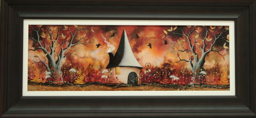 Autumn Woodland Hide Away by Sarah Ewing
