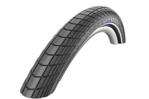 Schwalbe Big Apple 16x2.00 with Reflective Sidewall and KevlarGuard