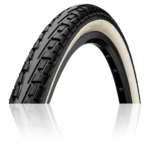 Continental Ride Tour 20x1.75 Black White Wall Puncture Protection