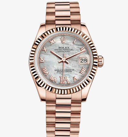 Ladies Rolex Datejust in rose gold with mother of pearl dial\\n\\n23/03/2016 16:25