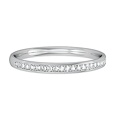 Pave set round brilliant cut diamonds set in white gold band\\n\\n07/02/2017 11:07