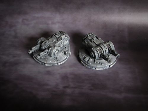 Starship Destroyer Turrets