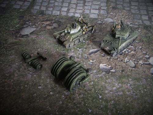 15mm WWII Mine Rollers