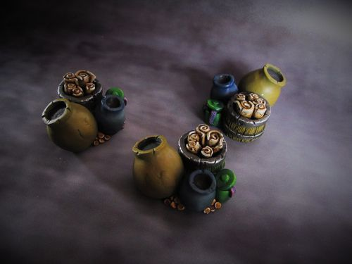 Pots and Scrolls