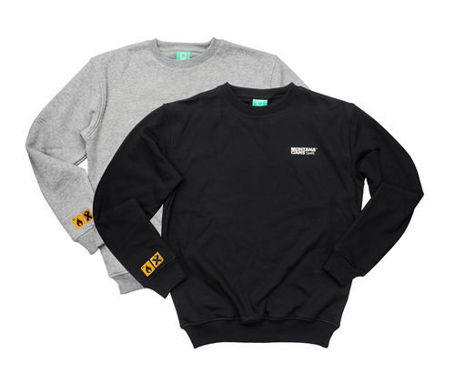 Montana - Typo Logo Sweatshirts (black and grey)