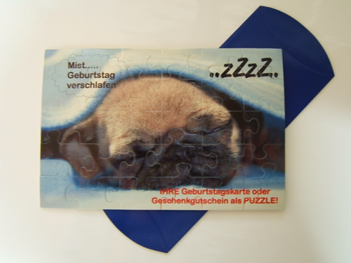 Puzzle inkl. Druck