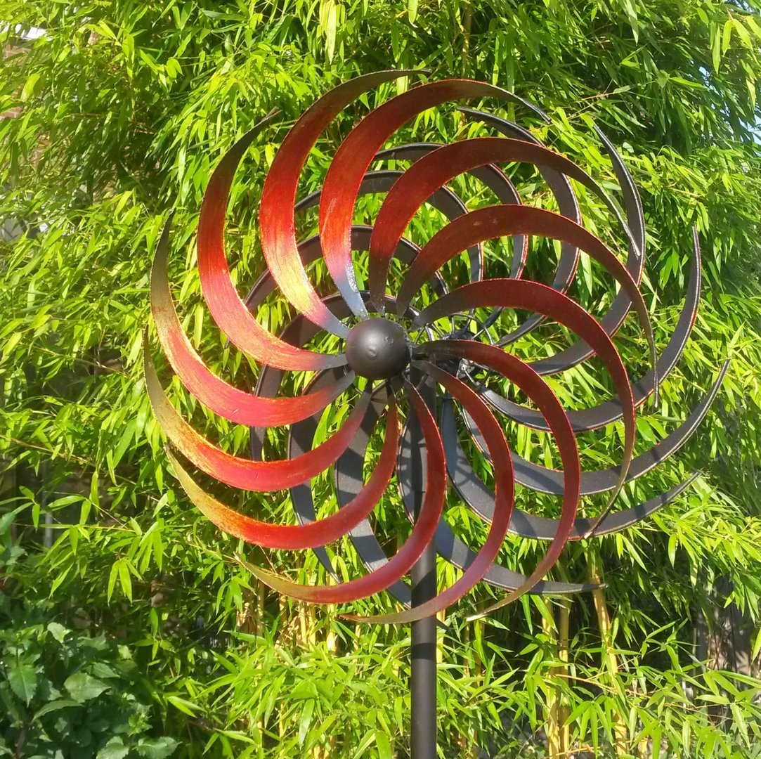 Windspiel Garten Metall Windspiel Gartenstecker Windrad