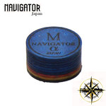 Navigator Alpha Medium Pool Cue Tip Mehrschichtleder