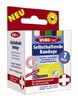 Selbsthaftende Bandage 4,5 m x 5 cm farbl. sortiert
