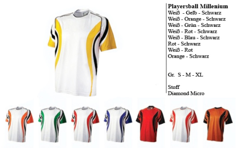 Fussball Trikot Set Fußballtrikot + Short Micro Diamond Playersball