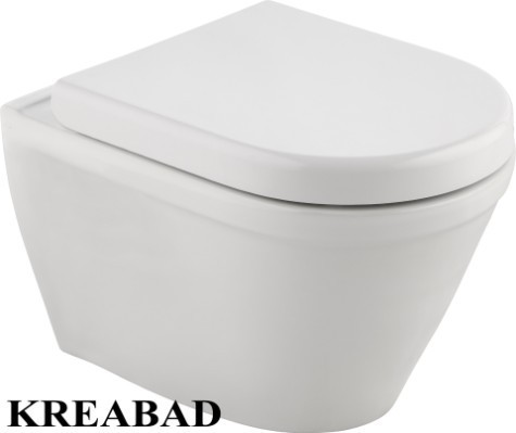 Wc Sitz Toilettendecken Soft Close Passend für Cornat Trient Wand wc