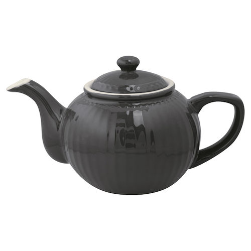 Greengate Teekanne Alice dark grey