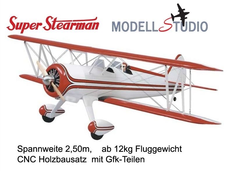 Modellstudio_Super_Stearman