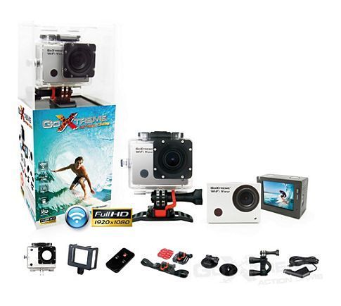 Mietkaution - ACTION-CAMERA easypix GoXtreme WiFi View Full HD