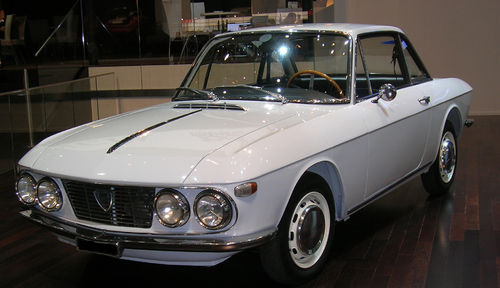 Lancia Fulvia Coupe Serie 1 Bj. 1963 - 1969 Kofferraumteppich