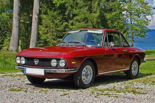 Lancia Fulvia Coupe Serie 2 Bj. 1969–1976 Kofferraumteppich