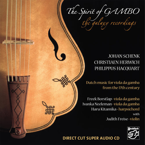 THE SPIRIT OF GAMBO - the galaxy recordings • SACD (Mch+2ch)