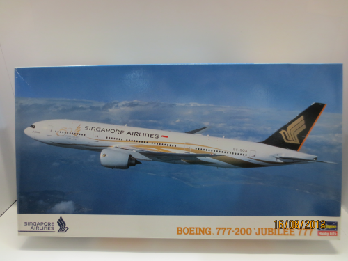 B777-200 Singapore Airlines