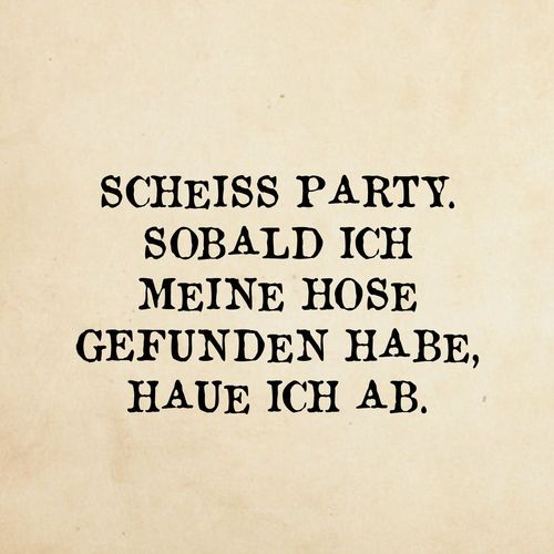 scheiss Party