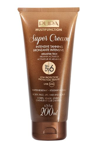 PUPA Super Cream Intensive Tanning SPF6 200ml