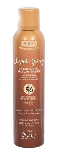 PUPA Super Spray Invisible Tanning SPF6 200ml