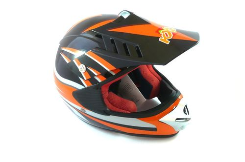 Kinder Helm Cross KXD 168-2, 53 - 54mm, orange