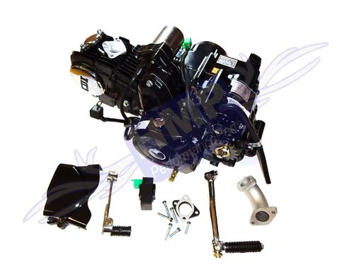 Motor SET - Lifan 125 ccm - 1P54FMI - Kick & E-Start oben