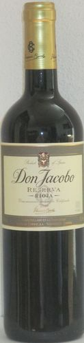 Don Jacobo Reserva 2010 DOC  14 %