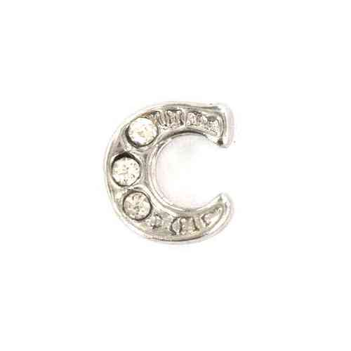 "Floating Charm Buchstabe ""C"""