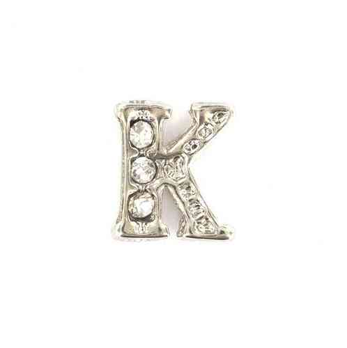 "Floating Charm Buchstabe ""K"""