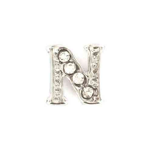 "Floating Charm Buchstabe ""N"""