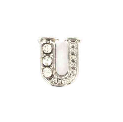 "Floating Charm Buchstabe ""U"""