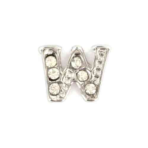 "Floating Charm Buchstabe ""W"""