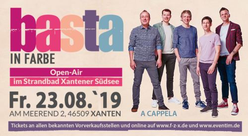Basta: In Farbe Open Air - 23.08.2019