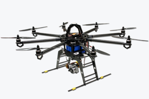 Professional Copter OCTO mit GPS - ready to Fly mit RC