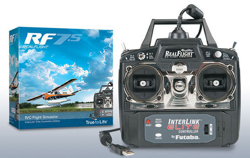 RealFlight 7.5 InterLink Mode 2 incl Controller